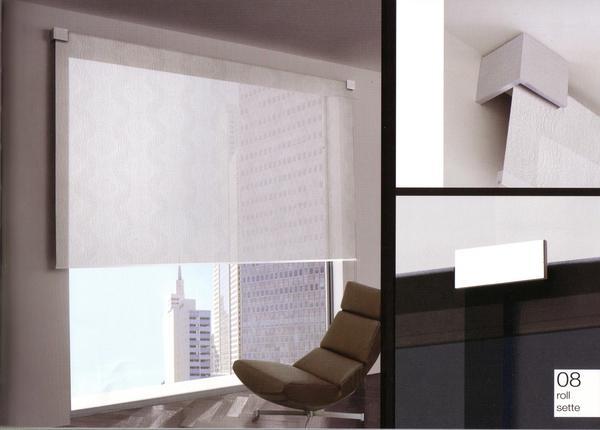 Tenda a rullo il punto tessuti e tendaggi for Tendaggi per soggiorno foto